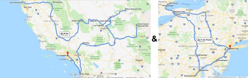 USA Nagy körutazás (Kelet és Nyugat) - Haris Travel Club